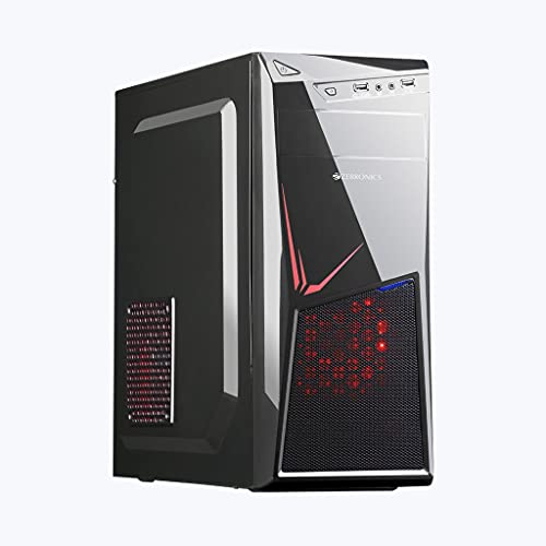 Desktop Computer with Core i3 3rd Gen CPU/H61 Motherboard/8GB DDR3 RAM/500GB HDD/Pre Installed Windows 10 Trail with Led Fan Cabinet