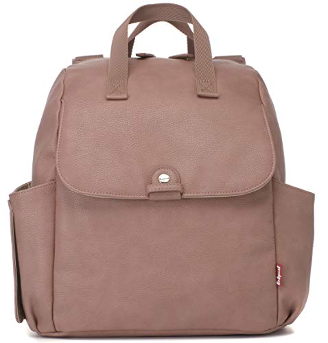 Babymel Robyn Backpack Pink PU Leather