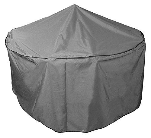 Bosmere NP015 Protector 7000 4 Seat Circular Patio Set Cover, Thunder Grey