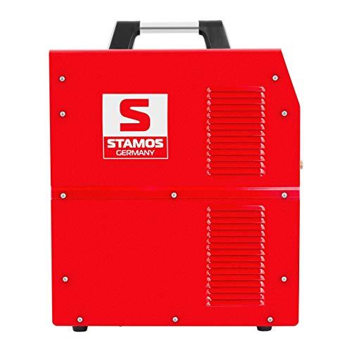 Stamos Germany S-PLASMA 40 Plasmaschneider 20-40 A 10 mm Schnitt Kompressor V-MOSFET Druckluftkompressor Plasma Cutter Plasmacutter Plasmaschneidegerät - 2