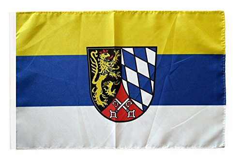 Flaggenfritze® Flagge Deutschland Oberpfalz - 30 x 45 cm