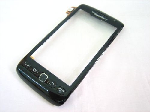 BlackBerry Torch 9850 9860 Touch Screen Digitizer, Front Frame Cover, Keypad Flex Cable Assembly, Mobile Phone Repair Part Replacement
