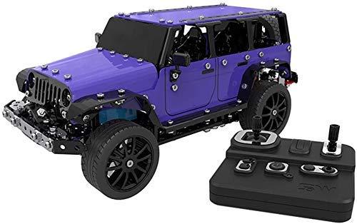 WGFGXQ Bloques de construcción de Acero Inoxidable de Alta Gama para la construcción de automóviles RC, Serie técnica, 3D, Juguetes educativos para niños, Halloween, para niños
