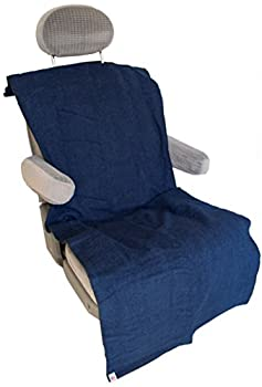 Soaked Or Dirty Athletes  SODA  Auto Seat Cover with Snaps - Absorbent & Waterproof - Machine Wash & Dry - Bucket or Bench Seat - Made in USA