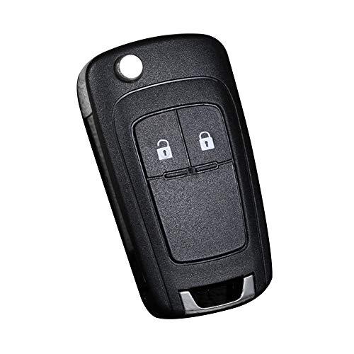 collectsound Carcasa de 2/3 botones para llave de repuesto para llave remota Chevrolet - 2 botones