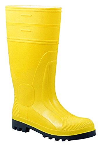 Botas de agua amarillas (unisex)