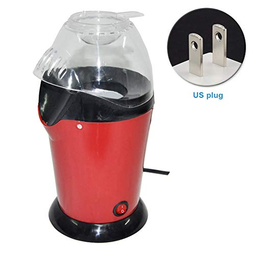 Find Bargain Machine - Diy Air Popcorn Popper Red Faster Electric Machine Low Fat Maker 1200 W - Cor...