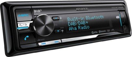Kenwood Electronics KDC-BT73DAB Schwarz 200W Bluetooth - Auto Media-Receiver (Schwarz, 1 DIN, 200 W, CD-R,CD-RW, 24 h, EON,PTY)