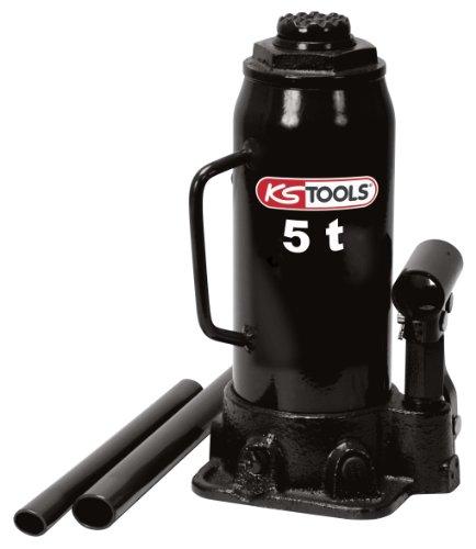 KS TOOLS 160.0352 - Cric Bouteille Hydraulique - Capacité 5 Tonnes