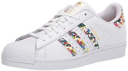 adidas Originals LDJ21, Zapatillas Hombre, Blanco Oro Metálico, 42 2/3 EU