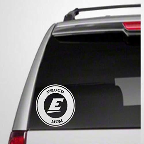 Etiqueta engomada auto de EKU Mom, vinilo para coche, decoración para ventana, parachoques, ordenador portátil, paredes, computadora, vaso, taza, teléfono, camión, accesorios de coche