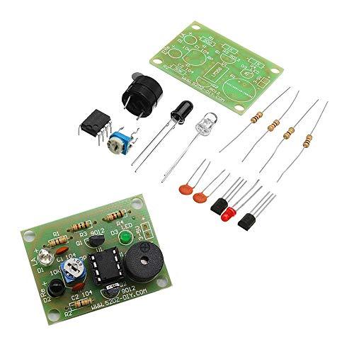 LYYCEU 3 unids Kit de Interruptor de Alarma antirroved del Sensor de tropiezo Pesado de 3pcs DIY Módulo electrónico