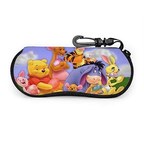 Funda para gafas de sol, funda suave, bolsa de seguridad, protección ultra suave, cierre de neopreno