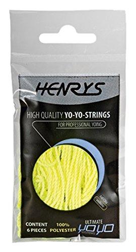 Henrys A01006-S05 Ersatzschnüre, Neongelb