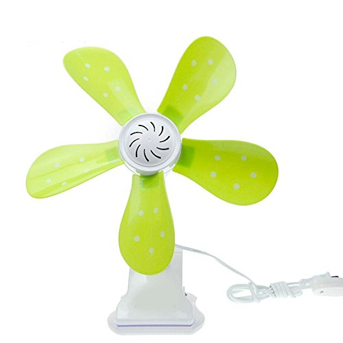Miaoge Frisch kleine Blumen Clip Ventilator 650 RPM großvolumige Lüftereinheiten Clip 300mm