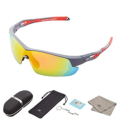 Polarized Men and Women's Sports Sunglasses UV Protection for Running Cycling