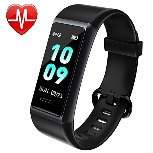 Mangcart 2019 New Model Fitness Tracker HR,Activity Tracker with Heart Rate Monitor Watch,IP68...