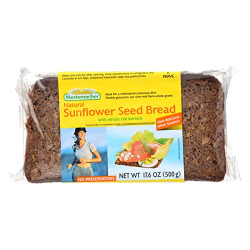 Mestemacher Bread Bread Sunflower Seed 17.6 oz. (Pack of 12)