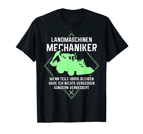 Landmaschinen Mechaniker   Landwirt Trecker Agrar Bauer T-Shirt