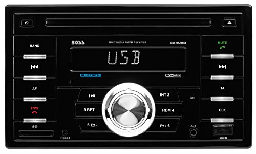 Audio  Touchscreen DVD/CD/USB/SD/MP4/MP3 Player Receiver with Navigation Bluetooth Streaming Bluetooth Hands-free with Remote 3