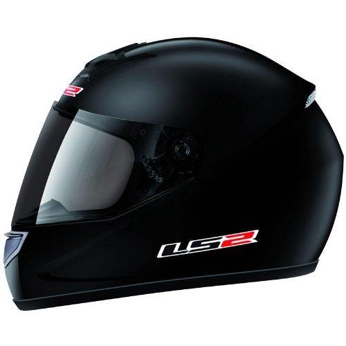 LS2 - Casco moto LS2 SINGLE MONO FF 351.1 - Talla: M - Color: Negro ma