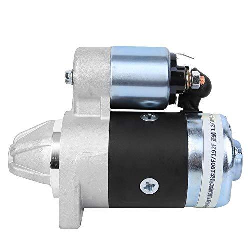 Qinlorgon 【Muttertagsgeschenk】 Austausch des Startenmotors, 4 x 2,6 Zoll für luftgekühlten Dieselmotor der Mini-Bodenbearbeitungsmaschine