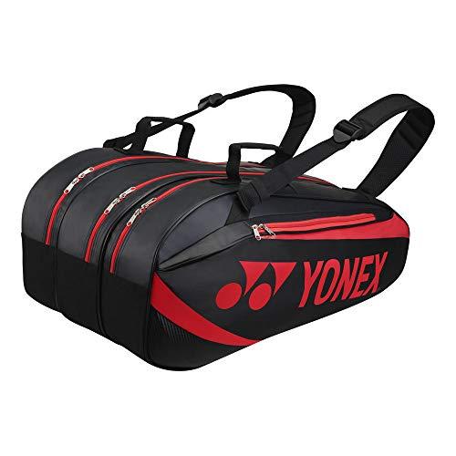 YONEX thermobag 9er schwarz rot Schlägertasche Schwarz - Rot
