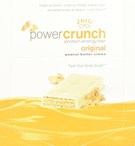 Power Crunch Protein Energy Bar, Peanut Butter Cream, 12-Piece, 1.4 oz, 40 g