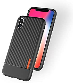 Phone Cases Covers Mobile Phone Cases TPU Soft Anti-Fall Protective Back Cover Phone Case for Xiaomi Redmi Note 6 Pro Case Cover (Color : Black)