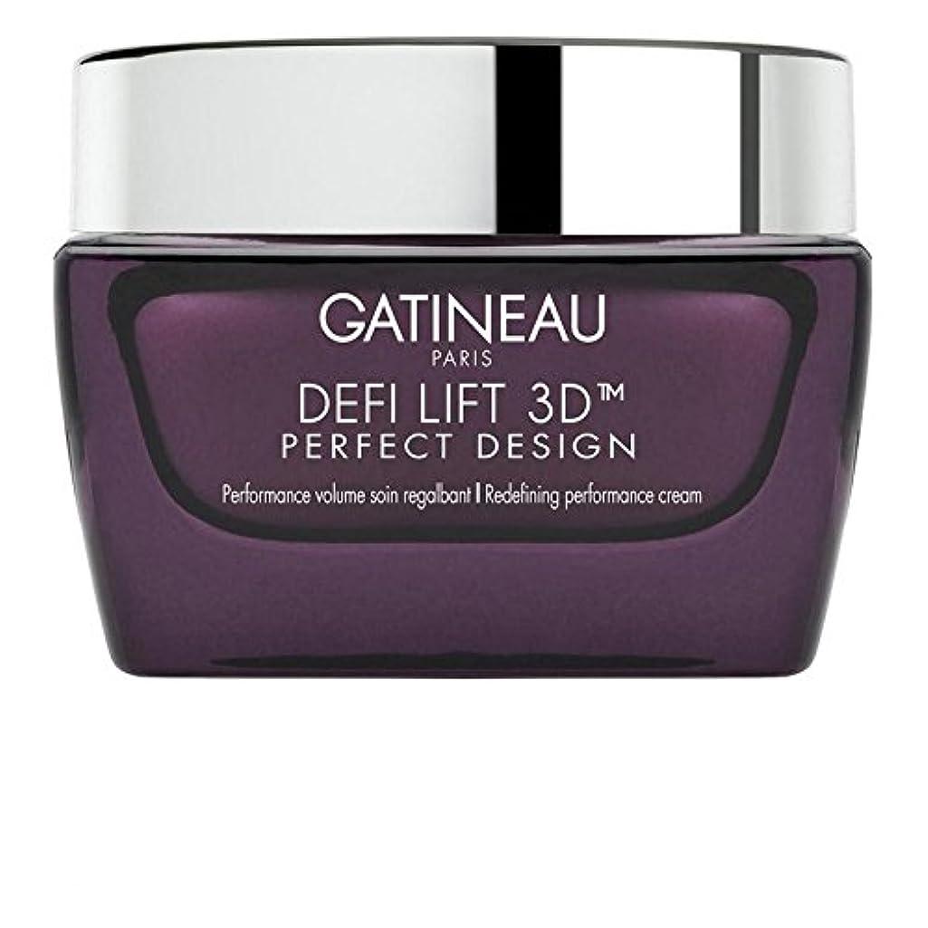 高潔な満足ミュージカルGatineau DefiLIFT 3D Perfect Design Redefining Performance Cream 50ml - ガティノー 3完璧なデザインの再定義パフォーマンスクリーム50 [並行輸入品]
