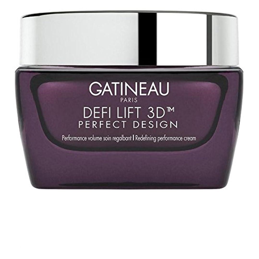 キャベツかろうじて終点Gatineau DefiLIFT 3D Perfect Design Redefining Performance Cream 50ml (Pack of 6) - ガティノー 3完璧なデザインの再定義パフォーマンスクリーム50 x6 [並行輸入品]