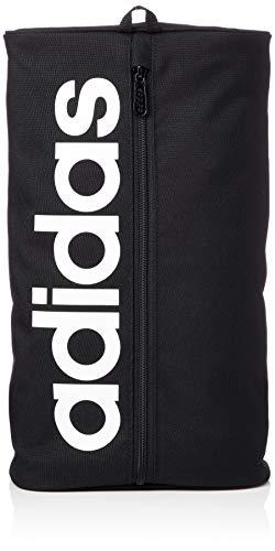 adidas - Linear Core, Bolso de mano Unisex adulto, Negro (Black/Black/White), 10x20x37 cm (W x H L)