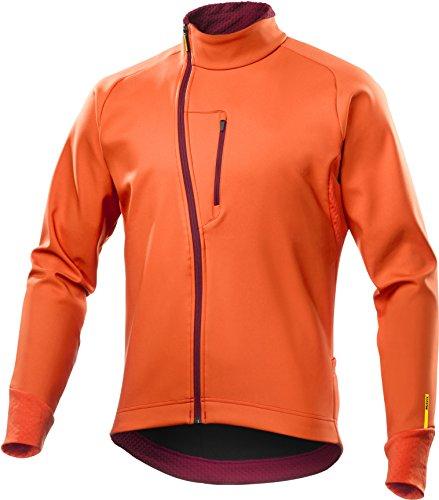 MAVIC Aksium Thermo Winter Fahrrad Softshell Jacke orange 2018: Größe: S (44/46)