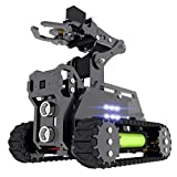 Adeept RaspTank WiFi Wireless Smart Robot Car Kit for Raspberry Pi 4 3 Model B+/B, Tank Tracked Robot with 4-DOF Robotic Arm, OpenCV Target Tracking, Video Transmission, Raspberry Pi Robot with PDF