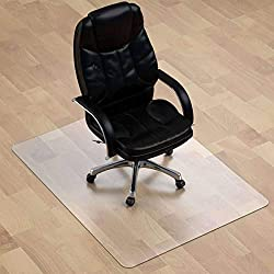 5. Clear Carpet, PVC Chair Mat Non-Slip Wear Resistant
