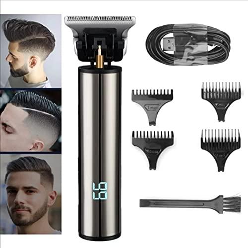 Maquinilla eléctrica para cortar el pelo para hombre cortadora de pelo profesional,...