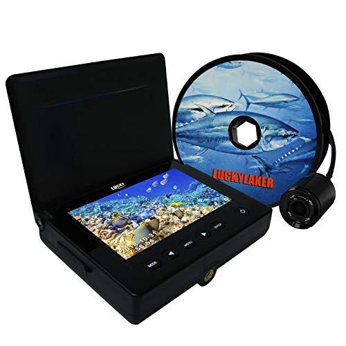 LUCKY Unterwasser Kamera Wiederaufladbar Video & Foto Erfassung Sun-Visor Design Fisch Locator Finder Anzeige für das Angeln Enthusiasten und Fachleute