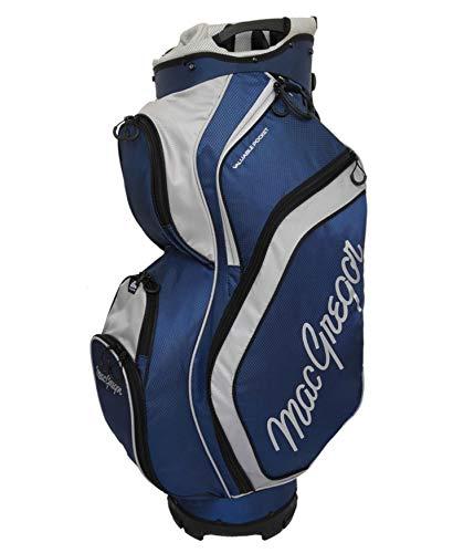 MACGREGOR MACBAG129 Golftasche, Schwarz/Blau, Einheitsgröße, Herren, MACBAG129, Navy/Silber, Einheitsgröße