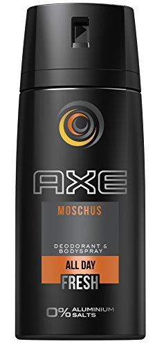 AXE Deospray Moschus ohne Aluminium, 150 ml