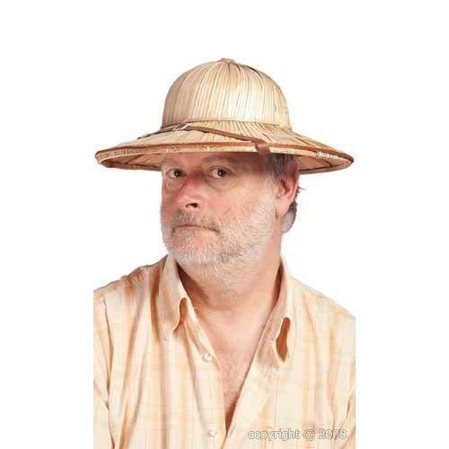 P'tit Clown 58131 - Cappello con paglia coloniale, da adulto, colore: Beige