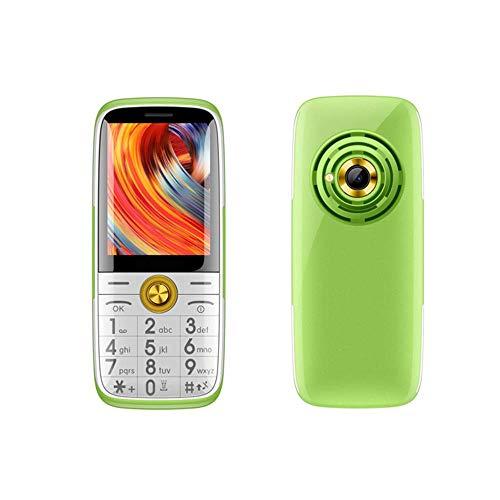 KAUTO Pantalla Grande fácil de Leer, teléfono móvil para Personas Mayores fácil de Usar, con Radio FM, botón Grande 3g, Compatible con Redes 2g y 3g, Altavoz y Linterna