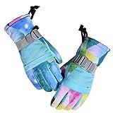 XINGYUE Adultos Niños Unisex Invierno Impermeable Espesar Caliente Pantalla Táctil Guantes De Nieve Camuflaje Impreso Snowboard Esquí Manoplas Antideslizante