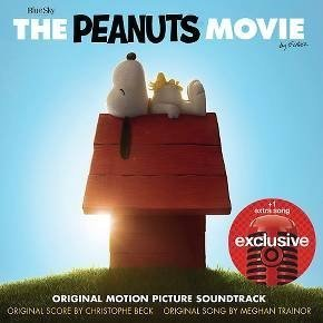 The Peanuts Movie Original Motion Picture Sountrack Exclusive +1 Extra Song CD (2015) by Meghan Trainor - Vince Guaraldi Trio - Flo Rida