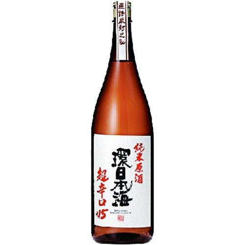 日本海酒造 環日本海 純米原酒超辛口+15 1800ml [2753]