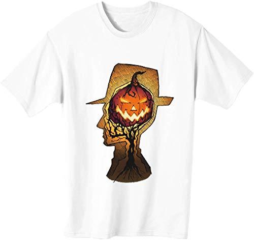 Hombre con sombrero listo para Halloween camiseta de los hombres bnft