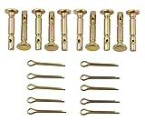 Rotary 5549 - Perni per spazzaneve e cotteri 10 pezzi