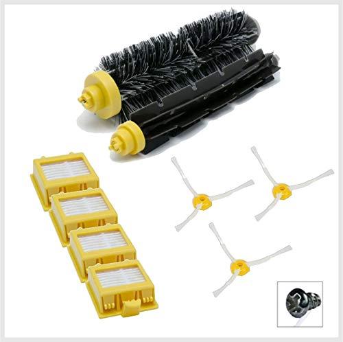 Robomarket® Kit Light serie 700 - Cepillos de 3 brazos y filtros ...