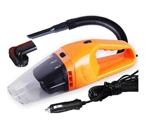 Akkusauger,Auto Staubsauger Nass / Trocken 12V 120W Tragbare Hand Vakuum Auto Vakuum , orange