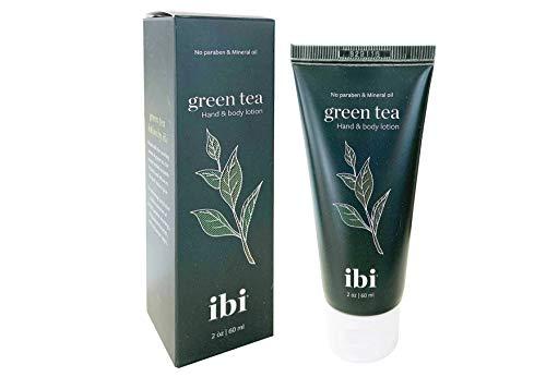 IBI Ultra Hydrating Moisturizing Hand Cream For Dry & Senstive Skin, Green Tea 2.02 Ounce Tube (1 Pc)