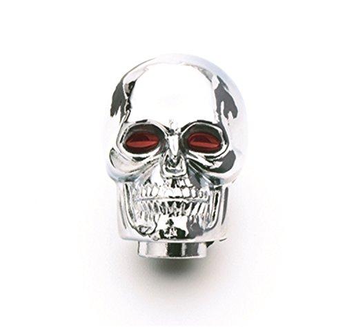 Mr. Gasket Chrome Skull Shifter Knob, Regular